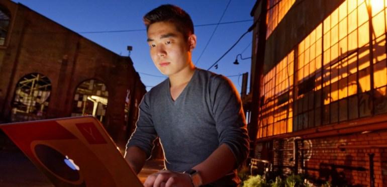Paul Duan,fondateur de l'ONG Bayes Impact qui propose de résoudre des problèmes de société grâce au big data.
