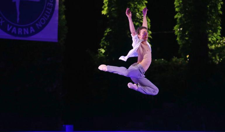 Le belge Gilles Delellio, 17 ans, vit son rêve de danseur au Washington Ballet