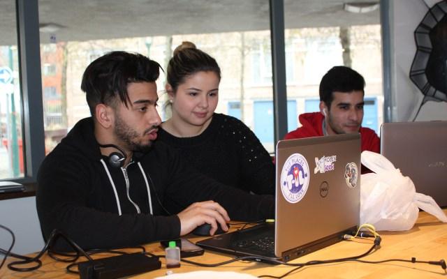 Au coeur de Molenbeek : une communauté et un espace co-working pour apprendre à coder