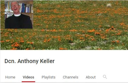screenshot of Deacon Anthony's channel