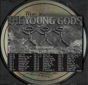 Retrospective Promo album cover, 1996