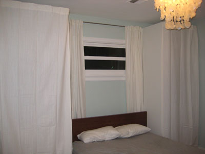 storage space with bedroom built ins