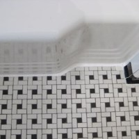 How To Get Clean Caulk Lines Every Time & Clean Old Tile