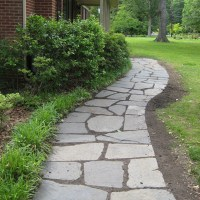 DIYing A Slate Path That Leads To Our Front Door