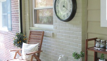 How To Paint A Brick Wall And Unify A Choppy Room | Young House Love