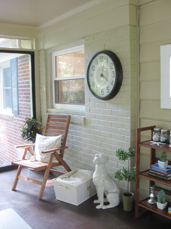 We Painted Our Exterior Brick!