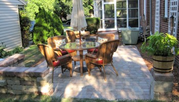 how to lay a paver patio gravel sand and stones young house love