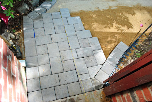 How To Build A Paver Patio Its DONE Young House Love