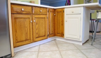 Adding Molding To Cabinets To Make Them Look Built In Young House Love
