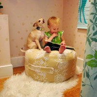 Winter Pinterest Challenge: How To Make A Beanbag Pouf