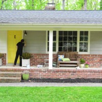 Painting Our House's Exterior Siding