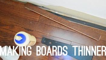 Twelve Time-Consuming Tasks When Installing Hardwoods