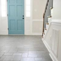 Foyer Freshness: A Soft Neutral Paint Color