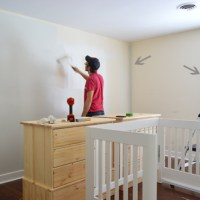 A Soft Neutral Paint Color For The Nursery