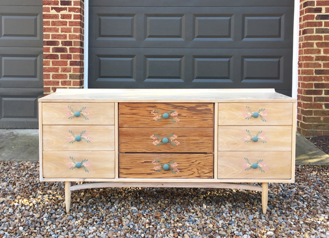 How-To-Hide-TV-Wires-Craigslist-Dresser-Before