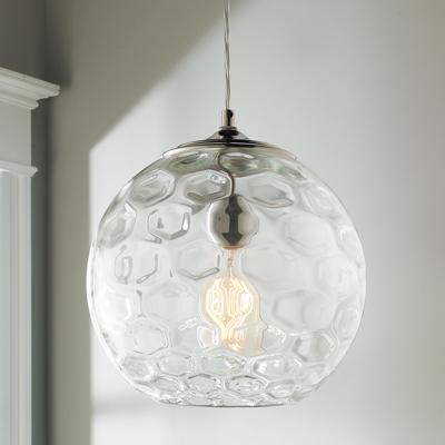 Honeycomb Bubble Glass Pendant