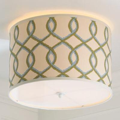 Trellis Ceiling Light (4 Colors!)