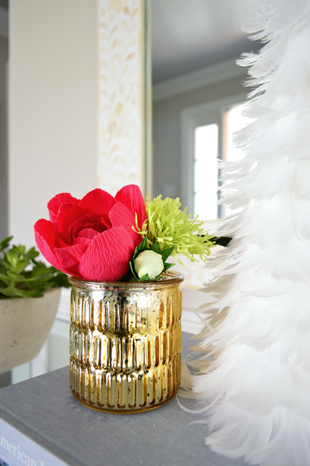 xmas-decor-paper-flower-close-up