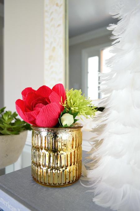 xmas-decor-paper-flower-close-up