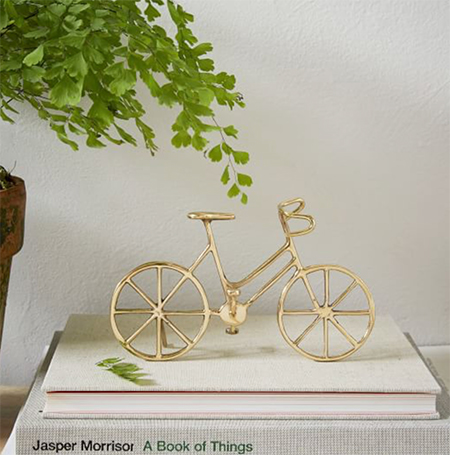 bicycle-decorative-object-gold-gift-idea-sale