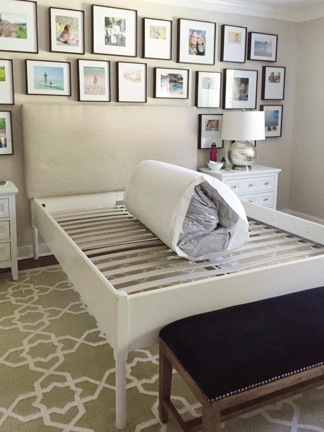 foam mattress review casper mattress ready to unroll