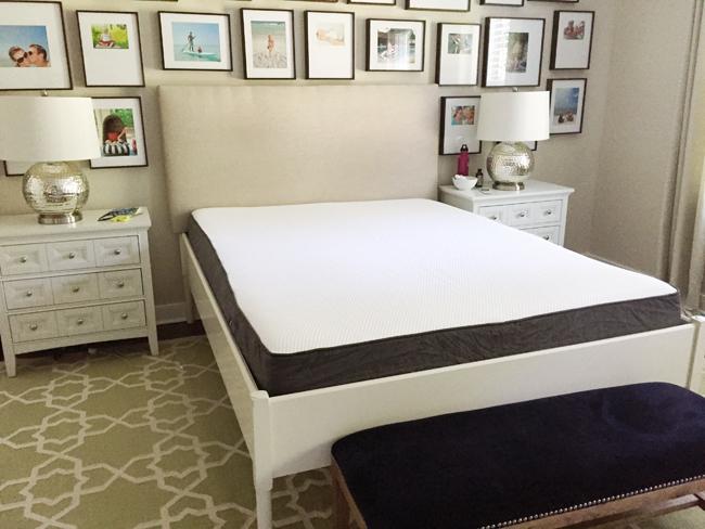 foam mattress review casper mattress on bedframe
