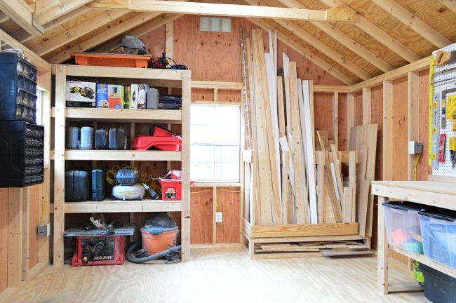 shed storage ideas garage organization wall