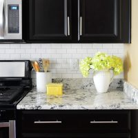 Installing A Subway Tile Kitchen Backsplash For $200