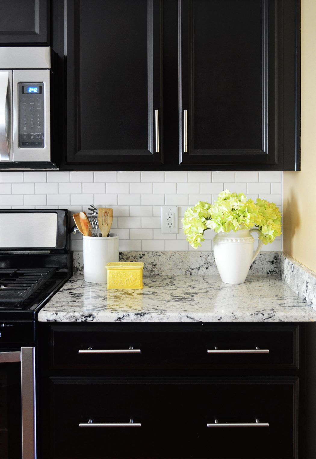 installing a subway tile backsplash for 200