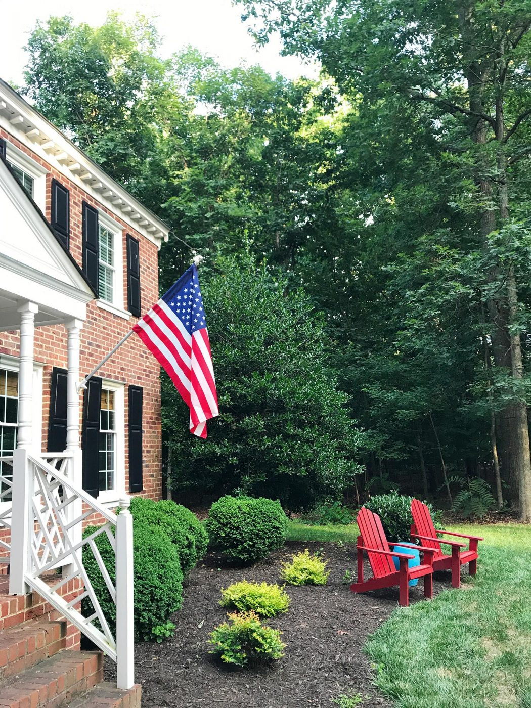 I Love A Patriotic Front Porch For The Fourth | Young House Love