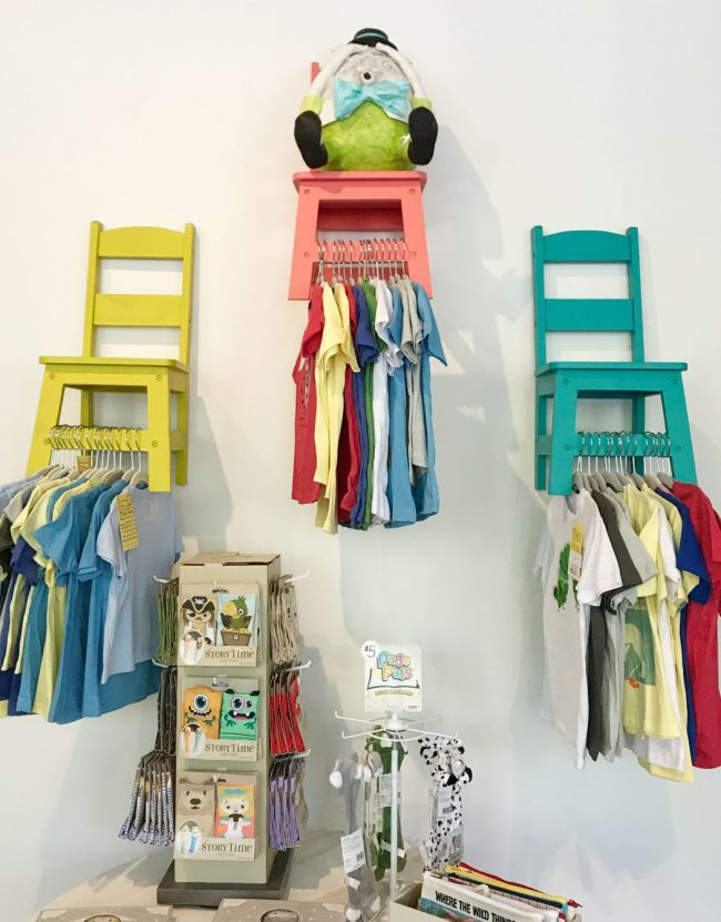 kids room ideas colorful chairs for hanging clothes