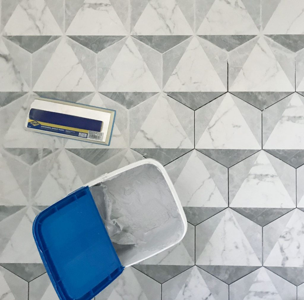 right grout color