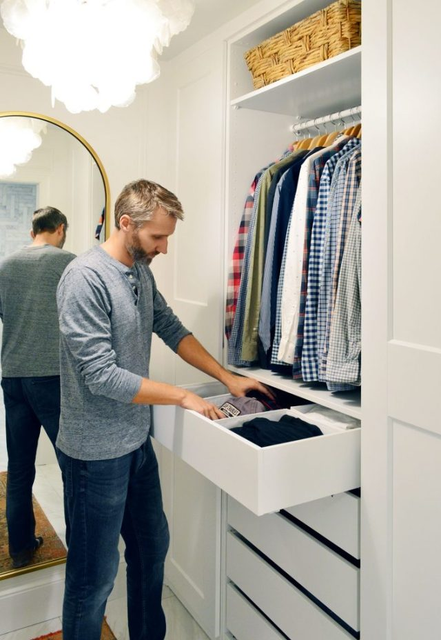 John Getting Clothes Out Of Ikea Pax Drawer System