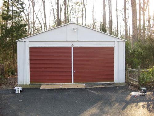Great How To Paint Your Garage Doors