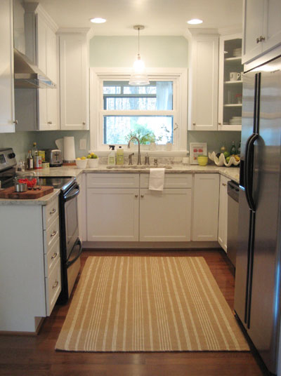 Renovation Kitchen Shaped U