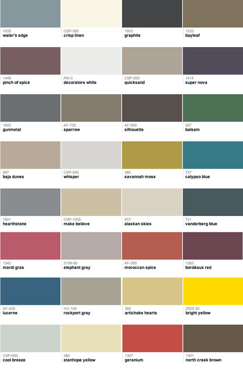 Our 32 Favorite Paint Colors This Year Young House Love