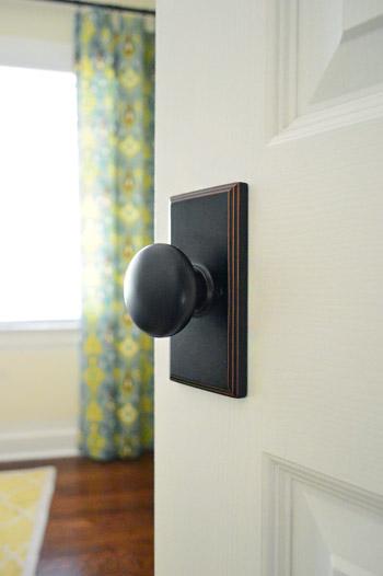 Updating Interior Doors By Installing New Doorknobs Young House Love