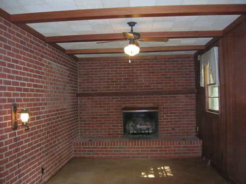 5 Dramatic Brick Fireplace Makeovers Dave And Kelly Davis