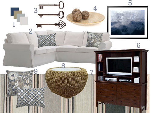 Warm And Cozy Dining Room Moodboard: This Classic Cottage Chic Makeover Is Definitely Going To Cozy Things Up In Beth's Living