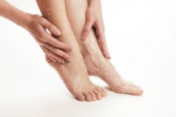 Foot Exfoliation with Sugar Scrub - Young Living