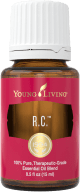 RC essential oil bottle Young Living