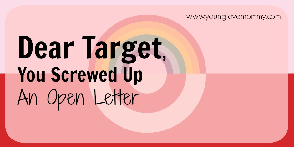 Open letter to target about their new transgender policy