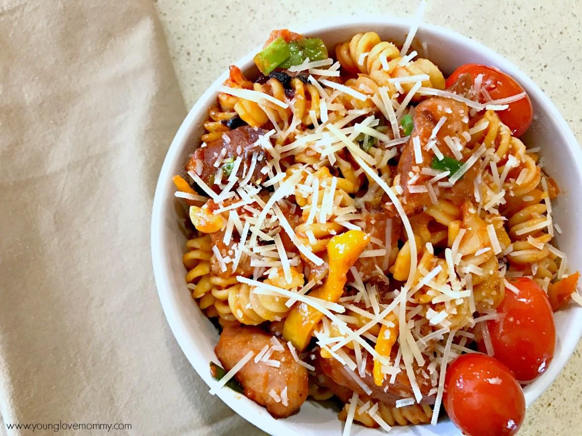20 Minute Recipe | Sausage Pasta Skillet