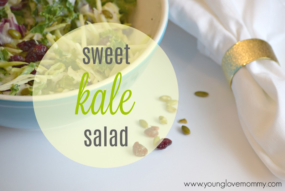Eat Smart Sweet Kale Salad