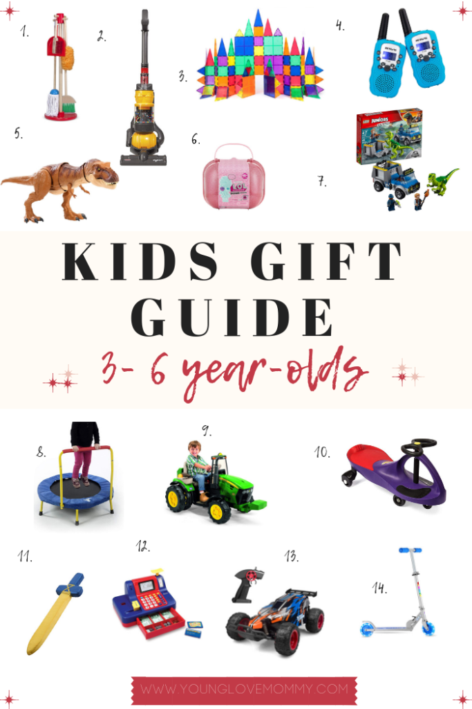 Gift Guide For 3 To 6 Year Olds Young Love Mommy