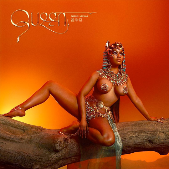 Nicki Minaj Reveals The Artwork For Her Queen Album