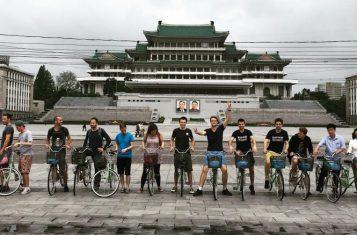 bicycle tour of pyongyang