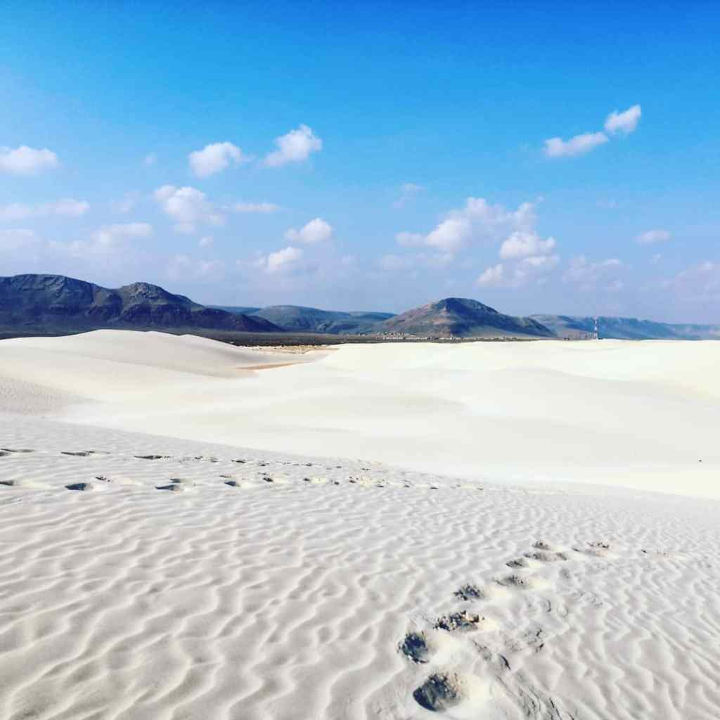 The beaches of Socotra