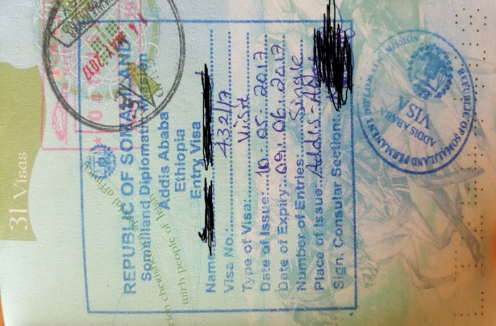 How To Get A Somaliland Visa Young Pioneer Tours