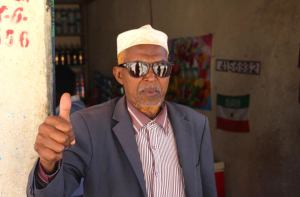 Local Somalilander on election day